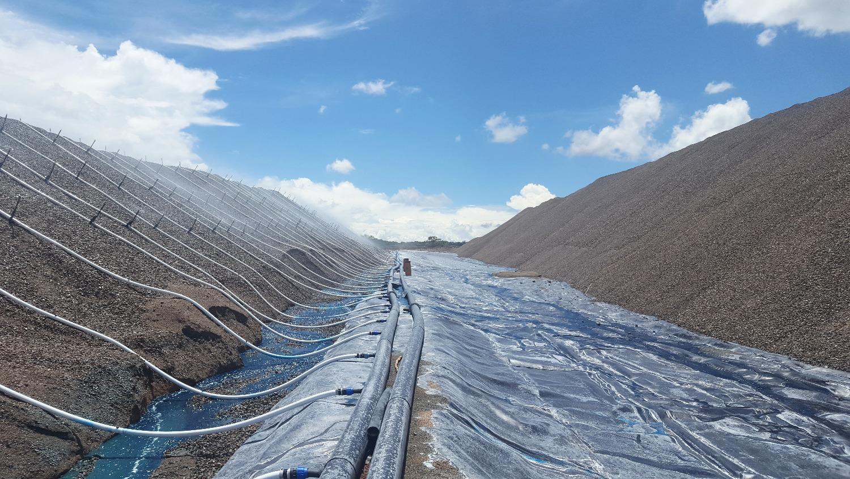Mining Sprinklers System
