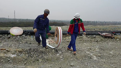 Flatnet  Mining Distribution Pipe