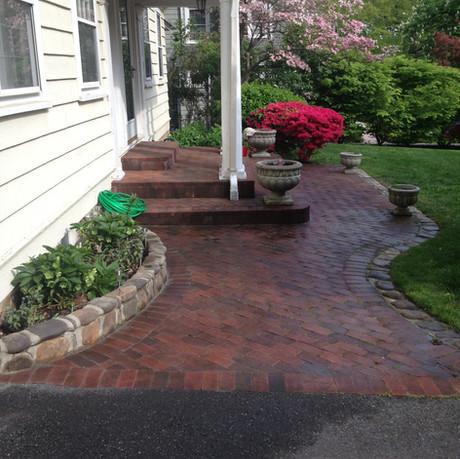 Brick Walkway and Steps