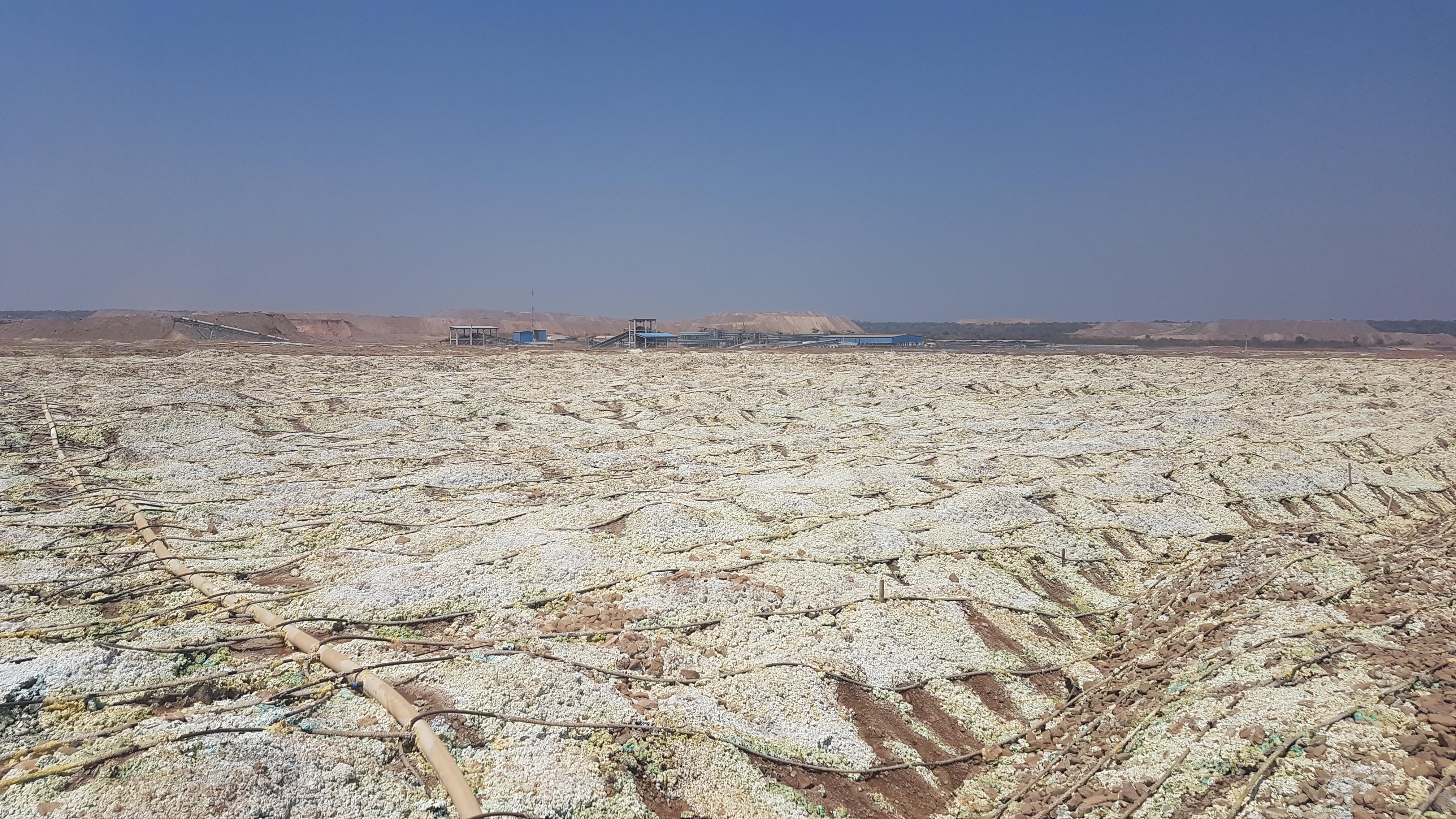 Drip Mining Irrigation