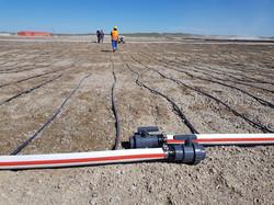 Heap Leaching Drip Irrigation