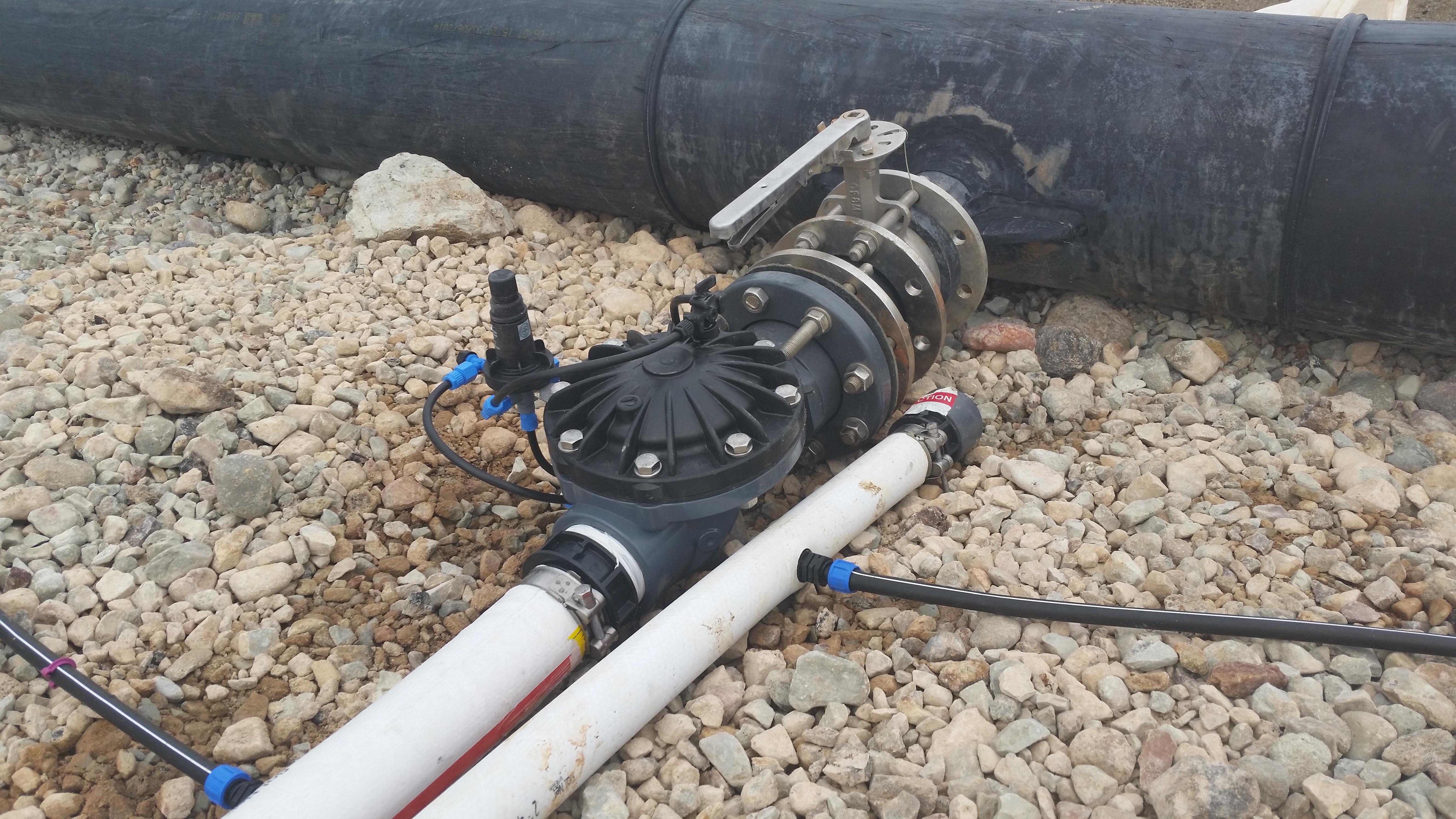 Mining Control Pressure valves