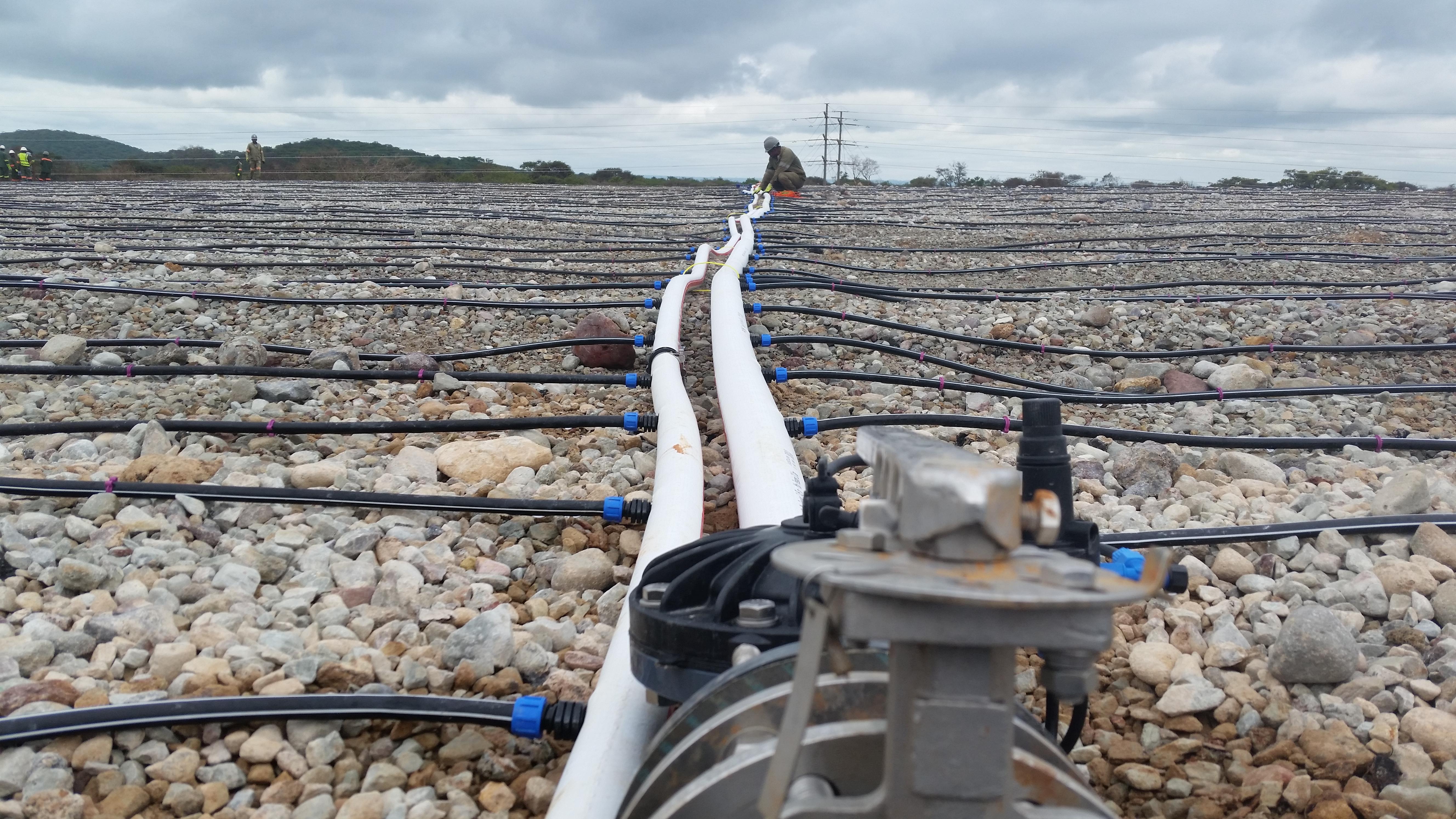 Flat Net Mining Pipes