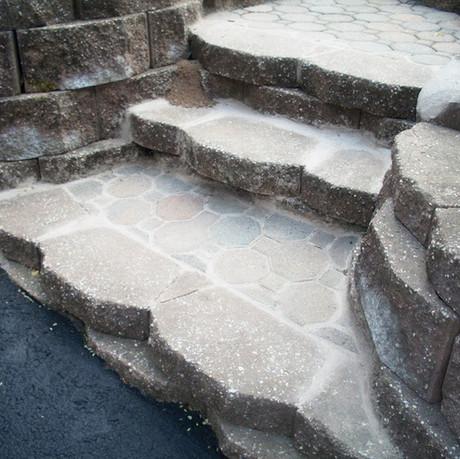 Unique Stone Steps