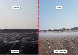 Mining Irrigation Comparison