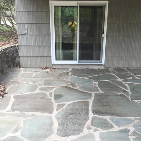 Stone Patio