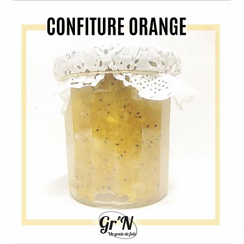 Confiture d'orange sans sucre et sans additif