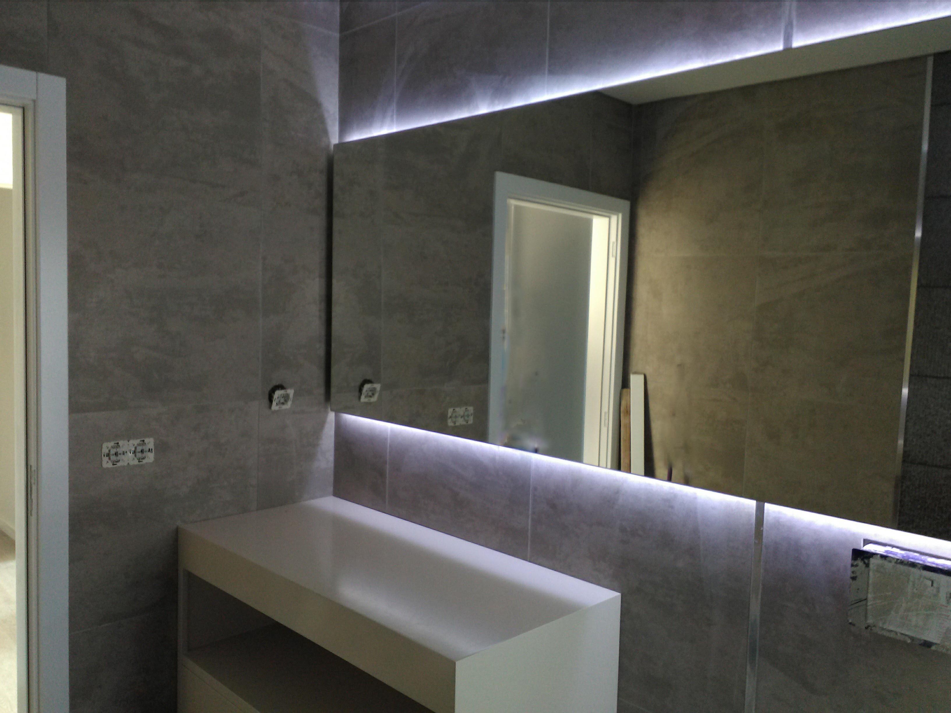 Móvel de Casa De Banho LED