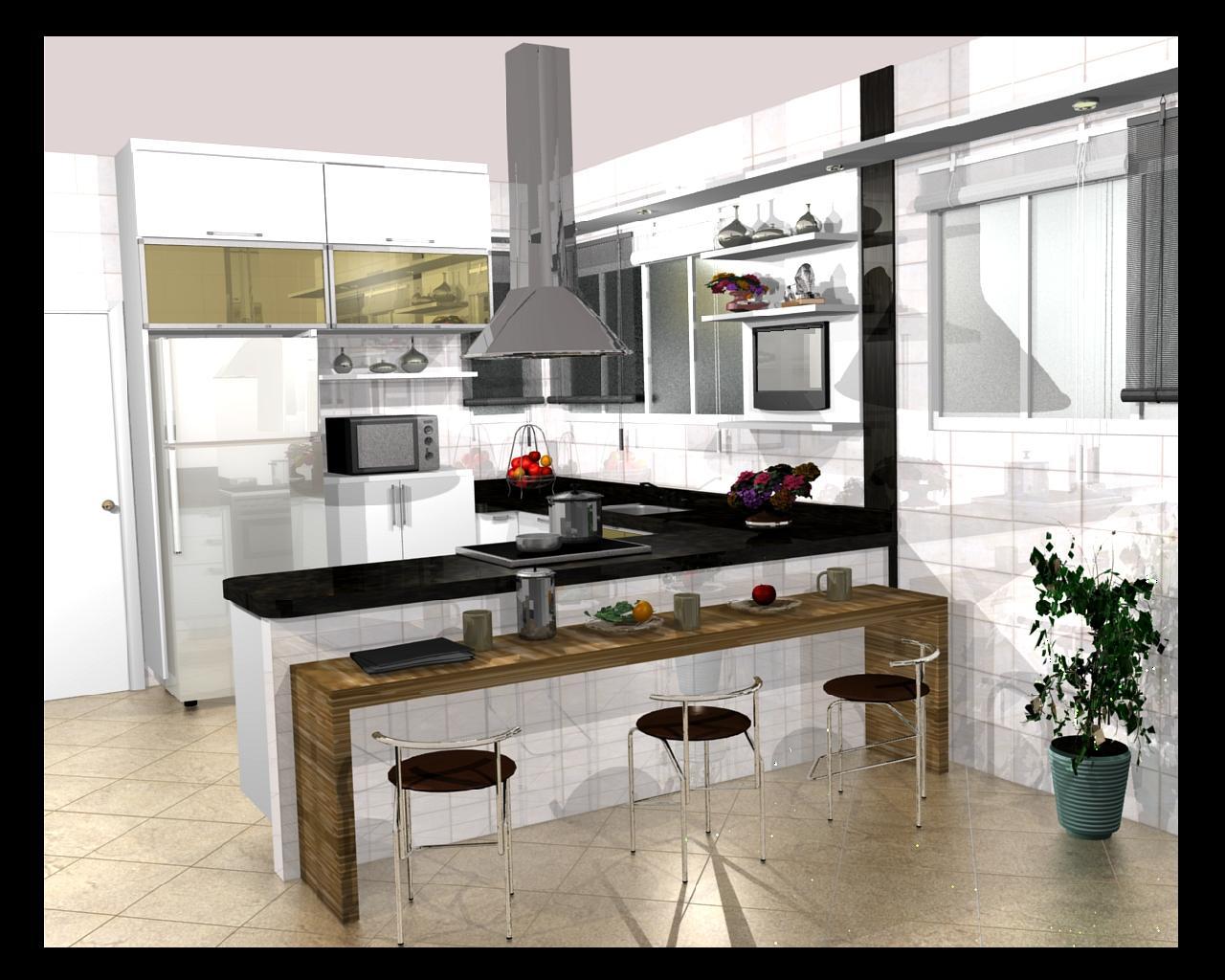 Cozinha moderna 576