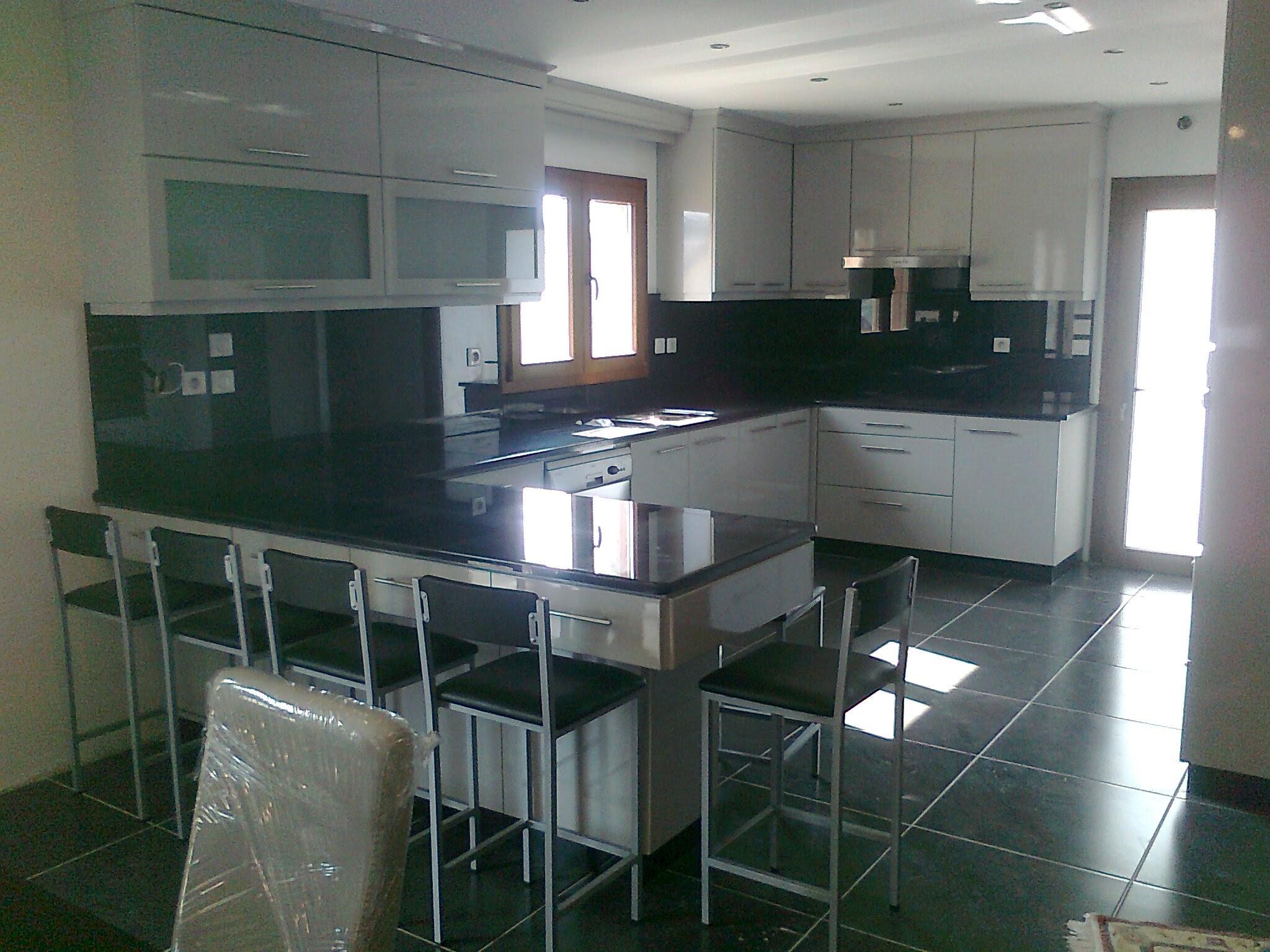 Cozinha Lacada branco