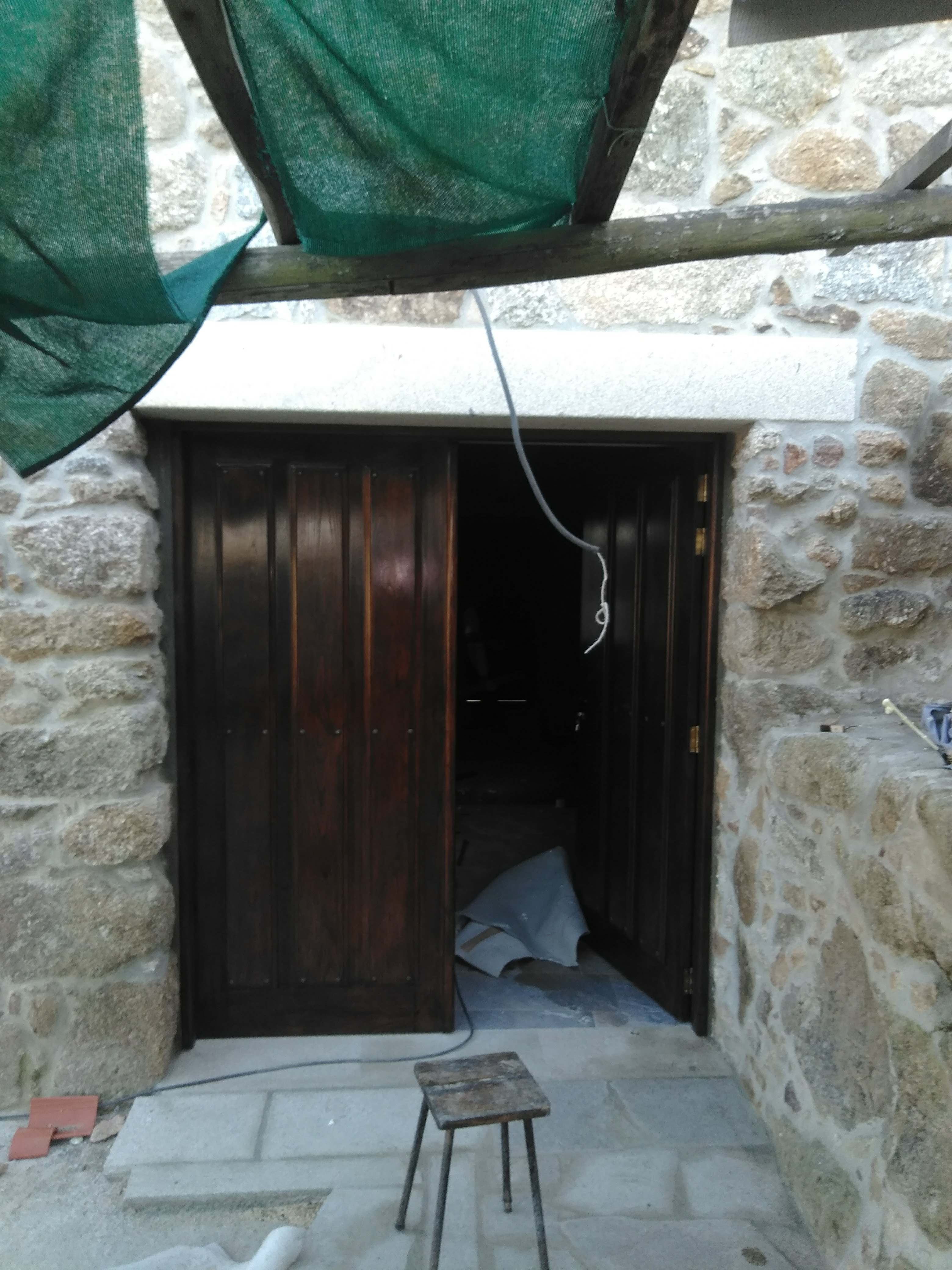 Porta de Carpintaria Exterior 4