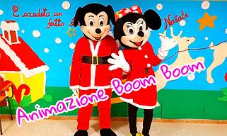 Topolino e Topolina in tema Natalizio