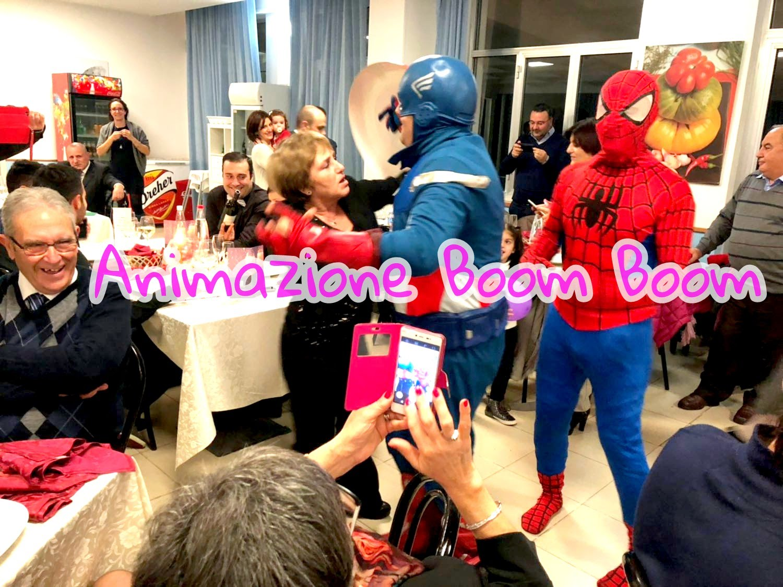 Super Eroi SpiderMAn e Capitan America