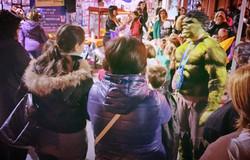 Luna Park con Hulk