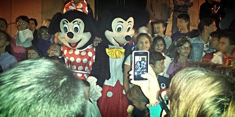Personaggi Disney a Messina