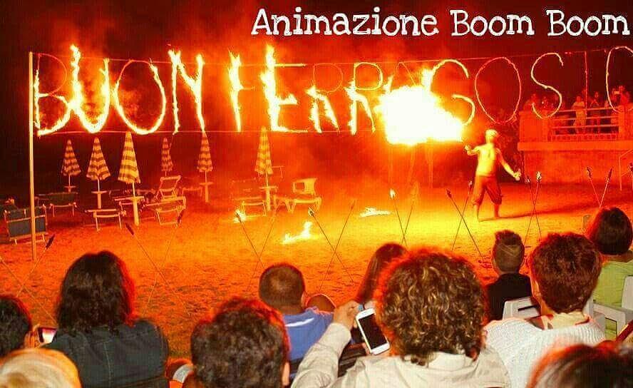 Fire Show Animazione Boom Boom