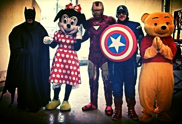 Super Eroi e Personaggi Disney