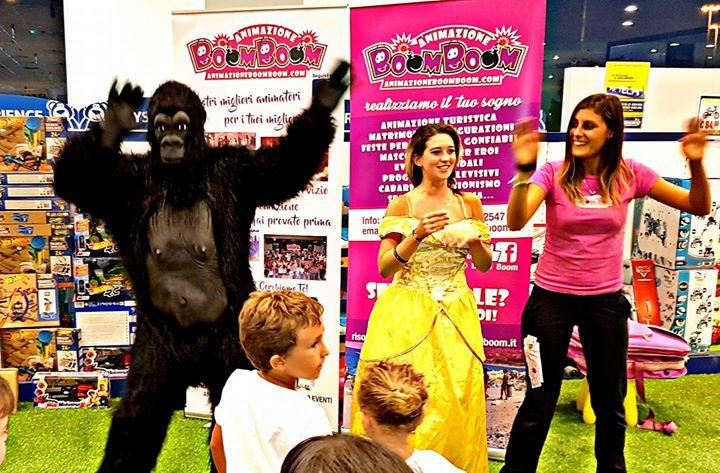 Animazione Boom Boom, Principessa Belle e la Scimmia di Occidentali's Karma