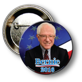 (25 Buttons) Style # Sanders-01 Round