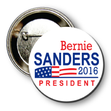 (25 Buttons) Style # Sanders-08 Round
