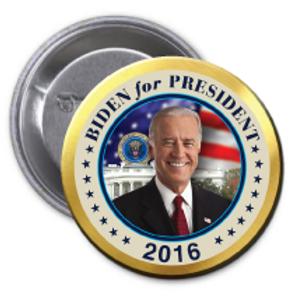 Style # Biden-01 Round Button
