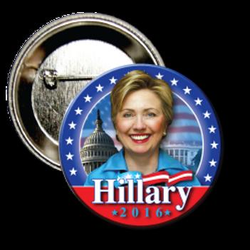 Style # Hillary-02 Round Button
