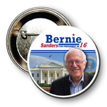 (25 Buttons) Style # Sanders-05 Round
