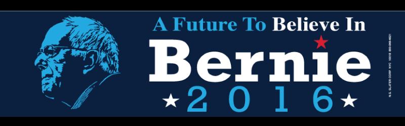 Style # Sanders Sticker-01