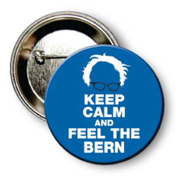(25 Buttons) Style # Sanders-03 Round