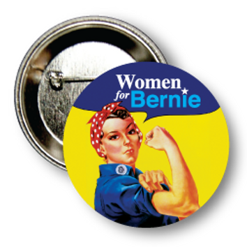 Style # Sanders-Women for Bernie Round