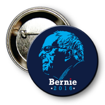 (25 Buttons) Style # Sanders-06 Round