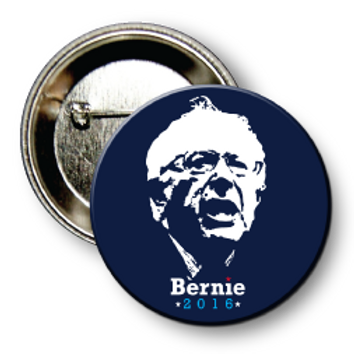 (25 Buttons) Style # Sanders-07 Round