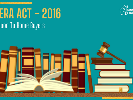 RERA Act - A boon to the home buyers