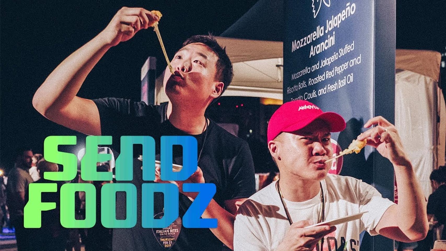 Send Foodz Thrillist SOBE WFF South Beach Miami, FL 2/21