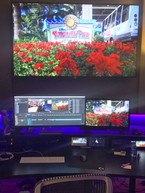 WDW Broadcast Productions Editing Suite