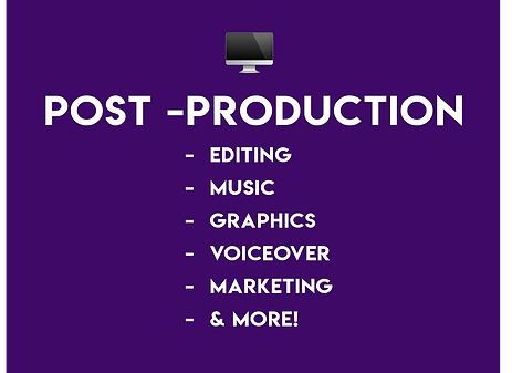 Video Post Production Services Post Production Editing Music Graphics Voiceover Marketing