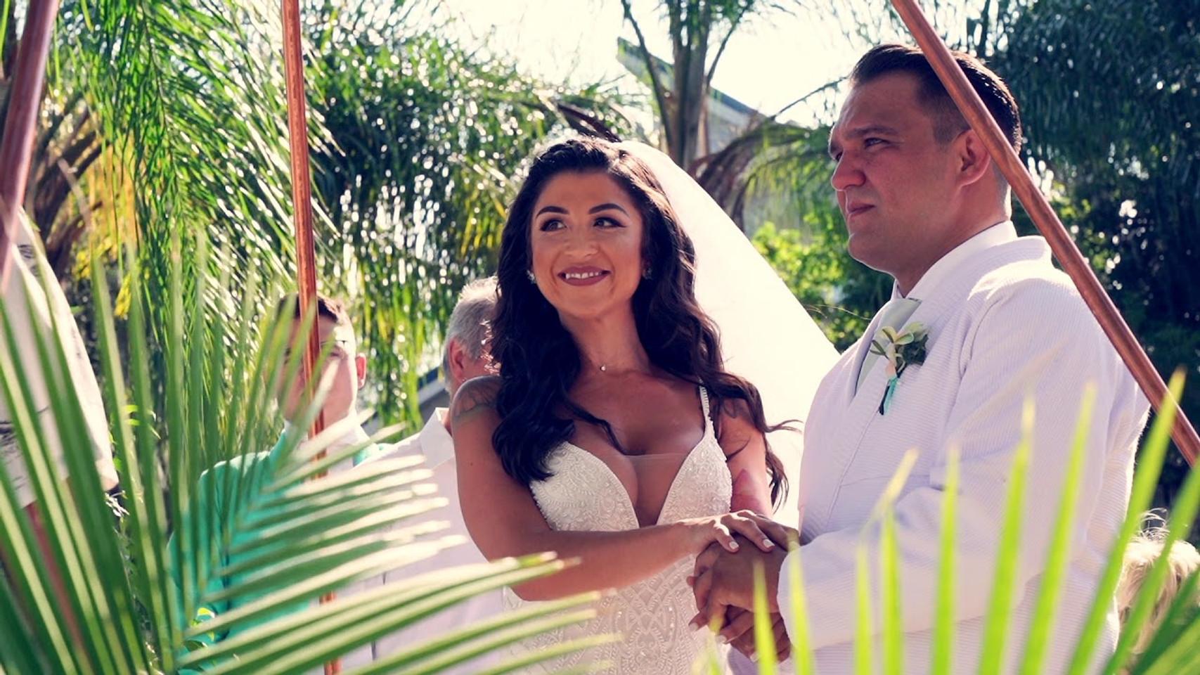 Amanda & Thiago Wedding Videography Paradise Cove Orlando Florida