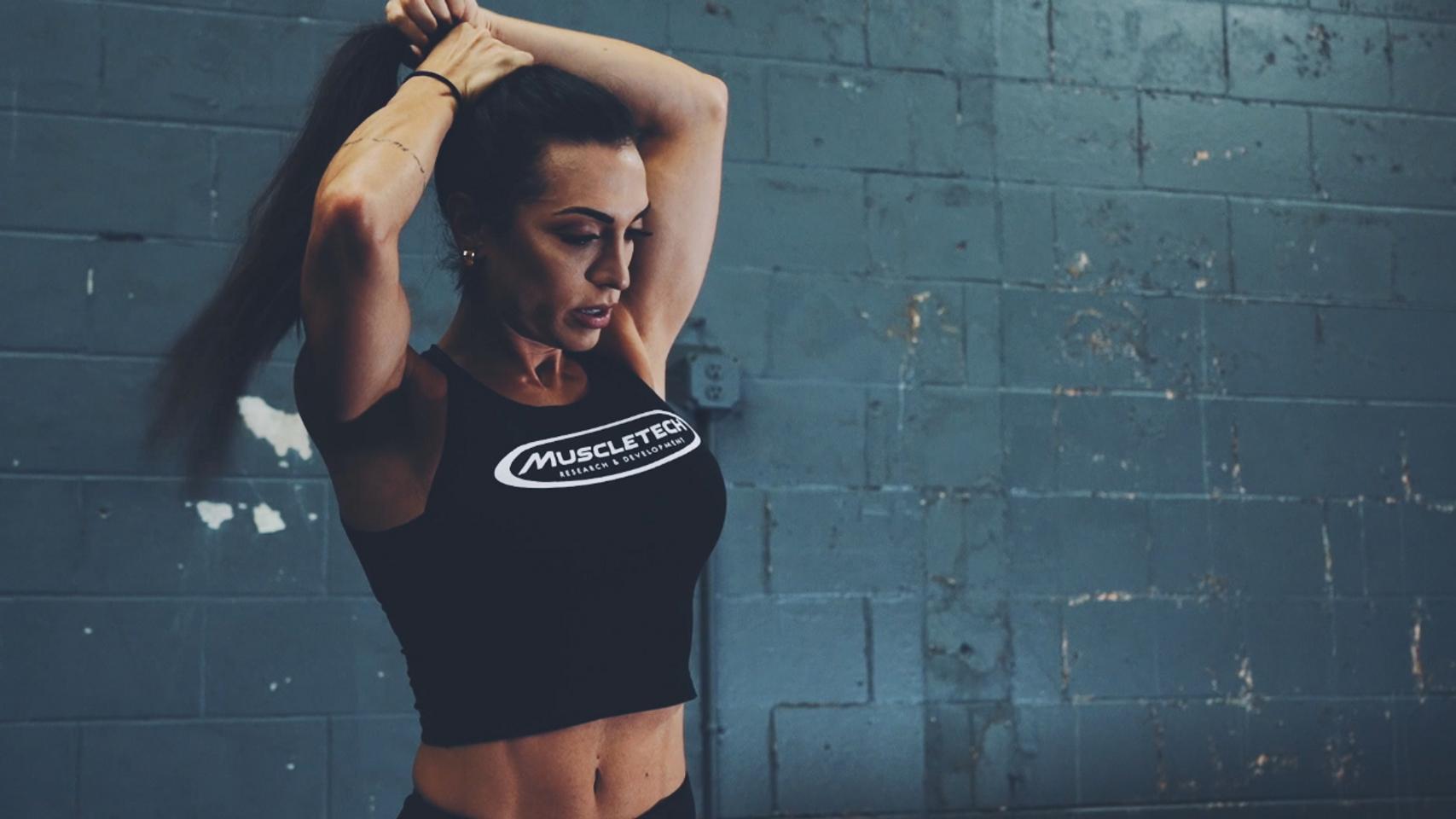 Gabi Dezan MuscleTech Workout Promo