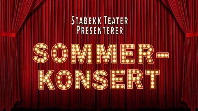 Sommerkonsert med Stabekk Teater