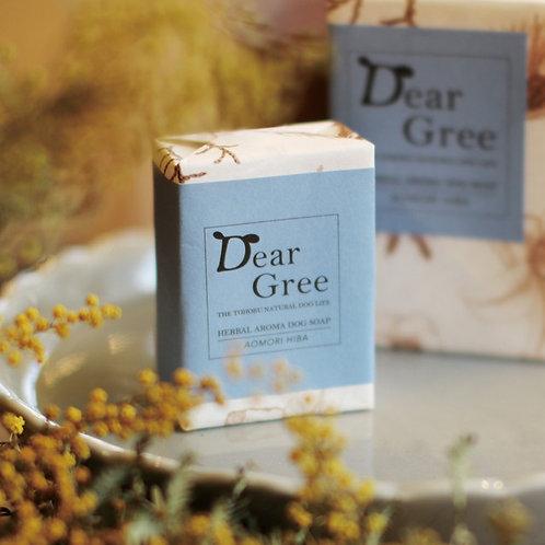 【Dear Gree】ハーバルアロマドッグソープ Sサイズ(60g)