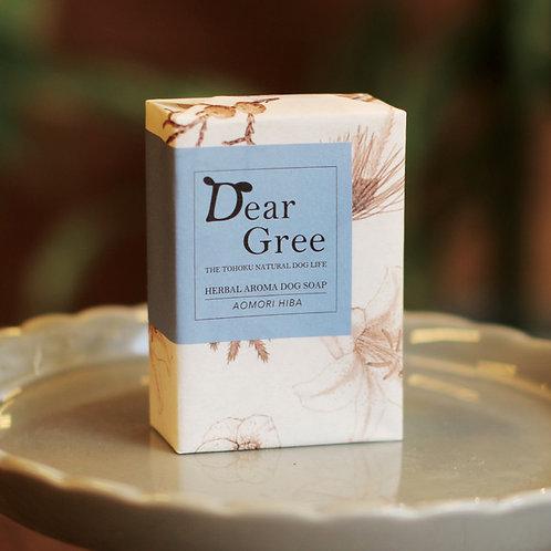 【Dear Gree】ハーバルアロマドッグソープ Lサイズ(120g)