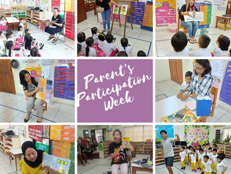 Parents Spent Time with our Pupils