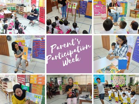 Parent's Participation Week