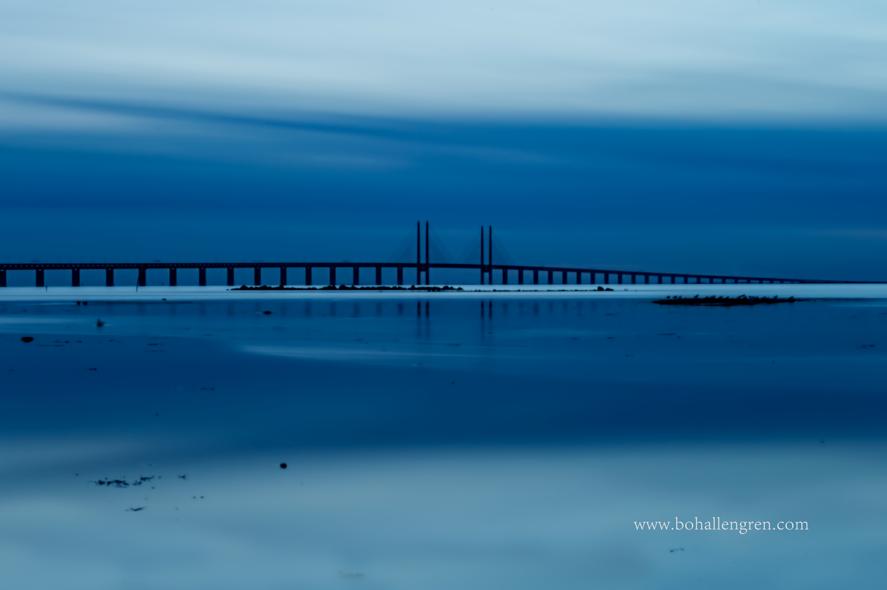The evening bridge