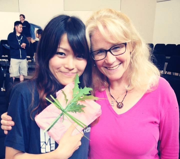 with Julie Spencer