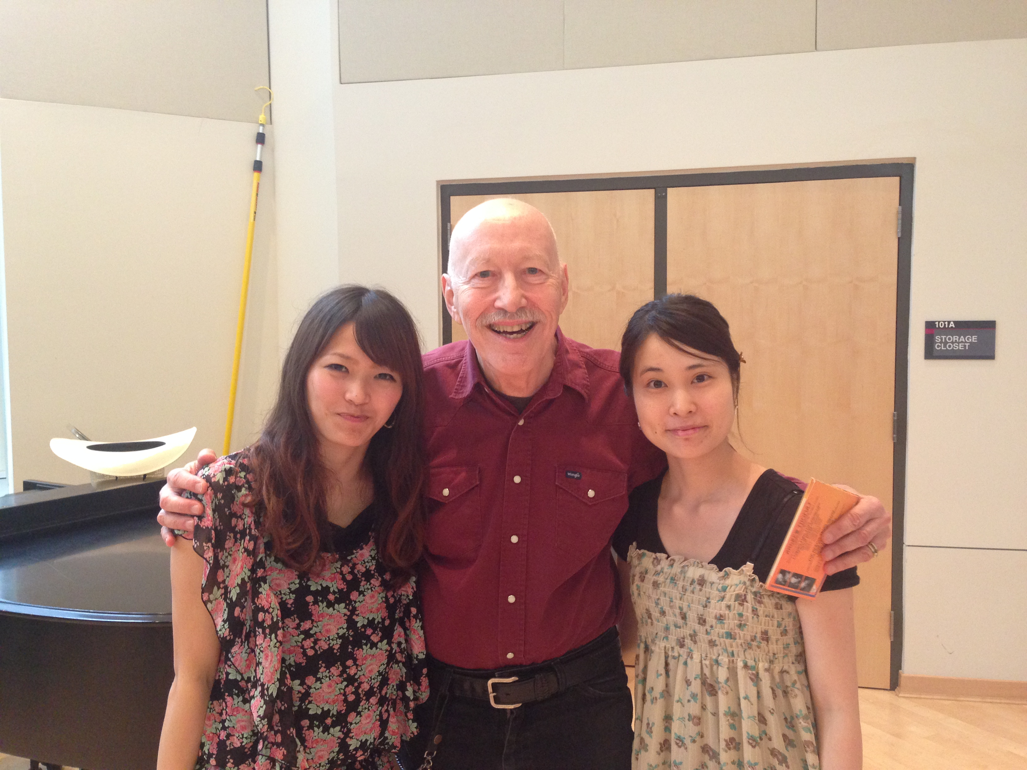 with Andrew Thomas and Izumi Hoshino
