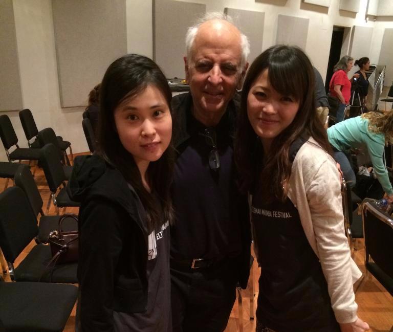 with Paul Lansky and Izumi Hoshino