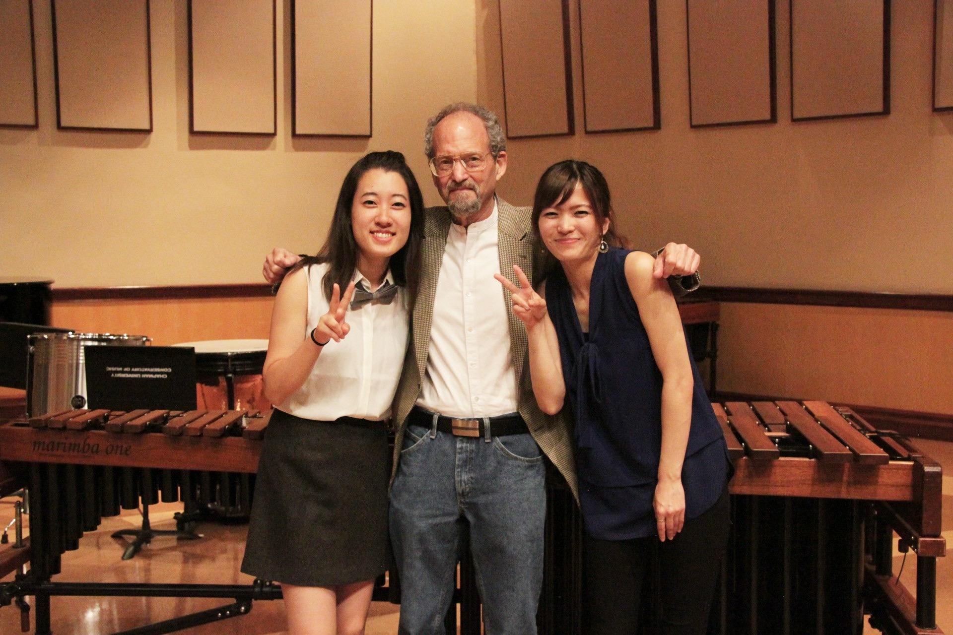 With Howard Hersh, Christina Cheon
