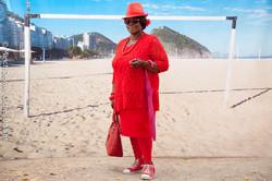 Lady'n red
