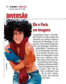 O Globo - 03/16